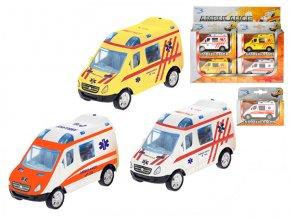 Auto ambulance CZ 8 cm kov zpětný chod