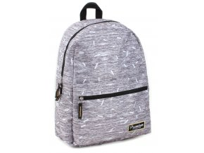 Školní batoh  SKOOTER Premium Confidence Va 9518 šedý