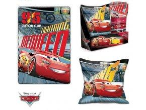 Souprava flísová deka a polštář  CARS Eli 5000