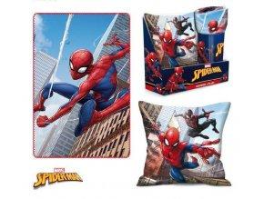 Souprava flísová deka a polštář SPIDERMAN Eli 5001