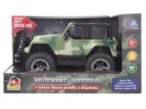 Jeep vojenský na baterie