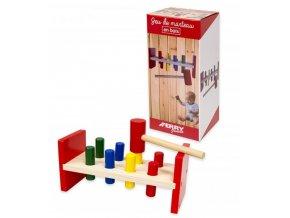 Dřevěná hra kladívko  Din 320017