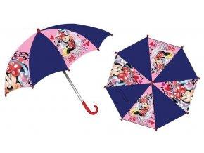 Deštník MINNIE oe 4238 červená ruk.