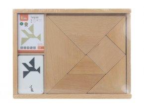 Dřevěné tangramy