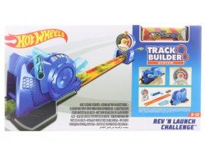 Hot Wheels Track builder rychlostní zkouška FLL02