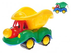 Auto sklápěčka klaun 35 cm v síťce