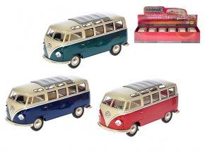 Autobus Volkswagen 1962 kov 1:24 volný chod 3 barvy
