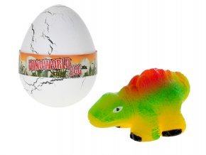 Dinosaurus líhnoucí a rostoucí ve vajíčku 12 ks v DBX