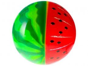 Míč 23cm vodní meloun 10m+ v síťce