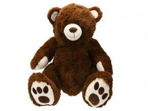 Medvěd plyšový 58cm sedící 0m+ v sáčku