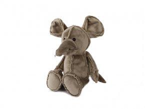 Myš plyšová 19 cm sedící