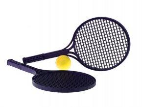 Soft tenis - 2 rakety 52,5 cm + míček v síťce