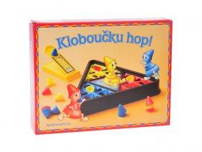 Společenská hra Kloboučku hop! v krabičce
