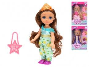 Panenka princezna 15cm s doplňky 3druhy v krabičce