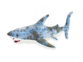 Žralok plyšový 33cm 0m+ v sáčku