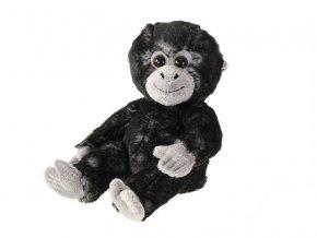 Gorila plyšová 18cm sedící 0m+ v sáčku