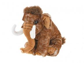 Mamut plyšový 19cm sedící 0m+ v sáčku