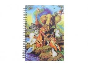 Zápisník A5 safari