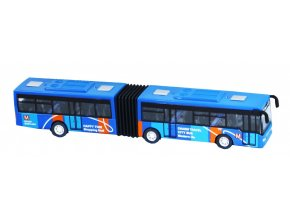 Autobus kovový kloubový