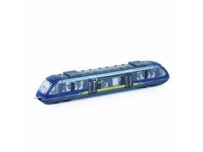 Moderní vlak kov/plast