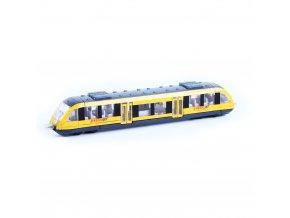 Kovový regionální vlak RegioJet 17 cm