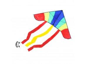 Létající drak nylonový 120 x 53 cm