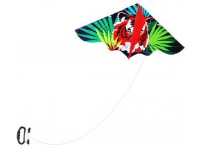 Létající drak tygr 120 x 61 cm