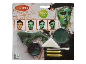Sada make-up kompletní horor - čarodějnice