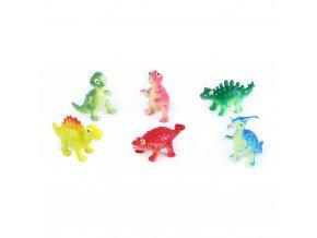Dinosauři veselí 6 ks v sáčku 2 druhy