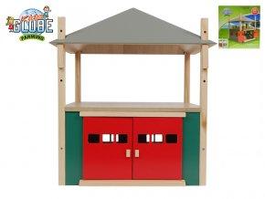 Seník/stodola 31,5x31,5x33cm 1:32 dřevěná v krabičce