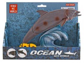 Delfín 22 cm pohyblivé části v krabičce