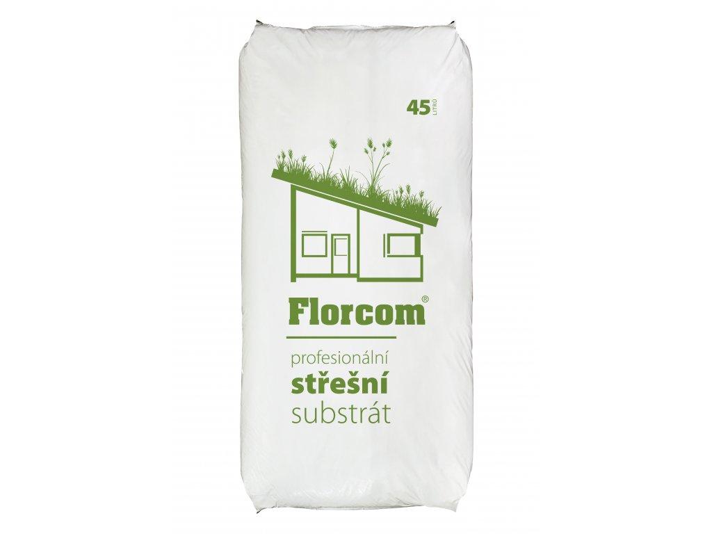 Florcom PROFI 45L stresni substrat 2020