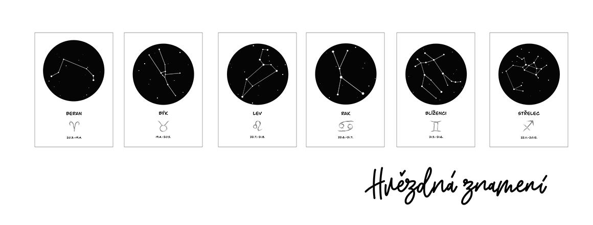 plakát Hvězdná znamení
