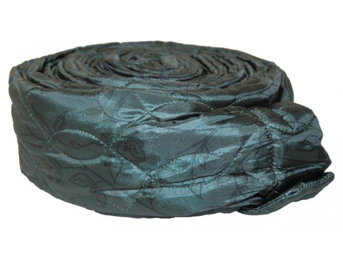 170333 Quilted Zipper Green