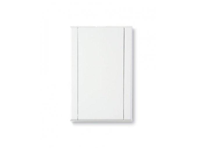 C 015 252 Plastová zásuvka celoplošná bílá