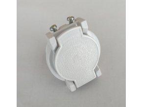 Plastový ventil bílý