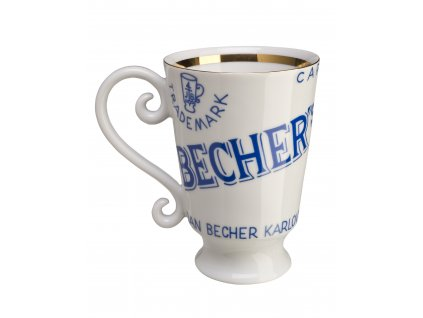 Becherovka kalich porcelánový