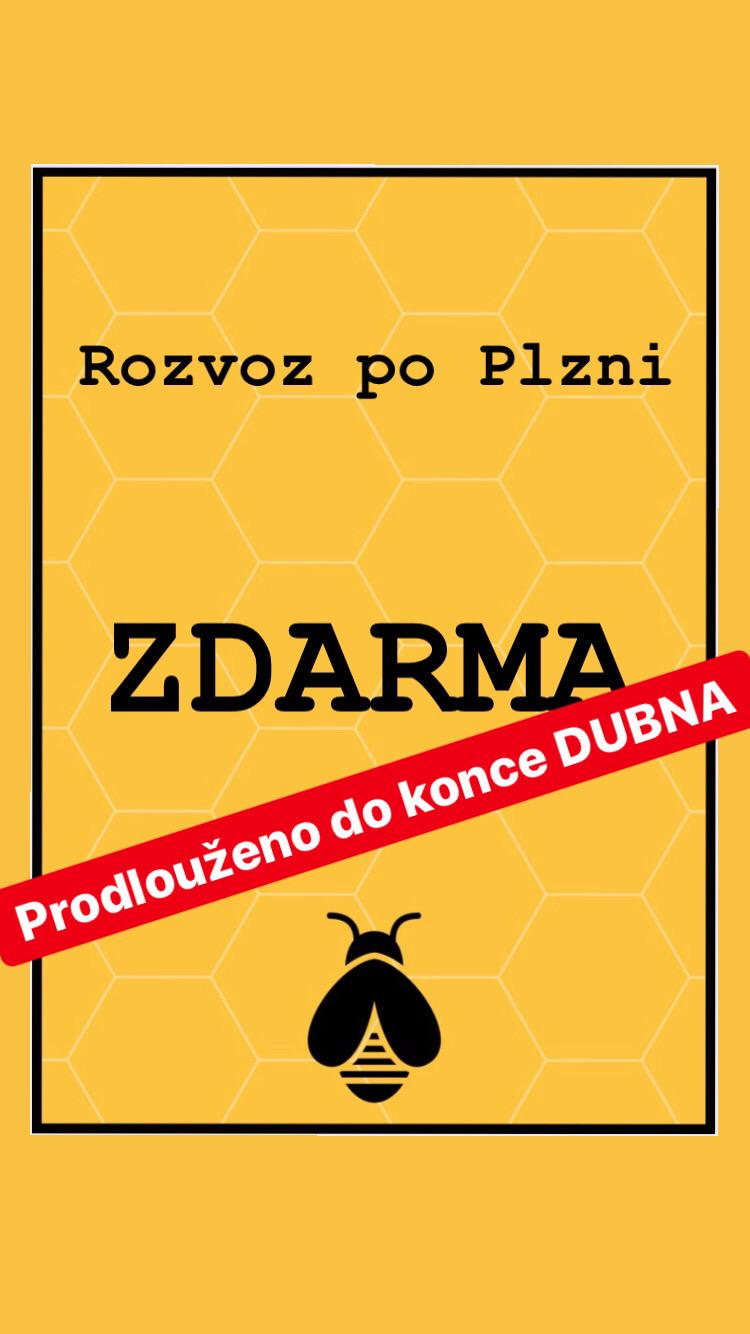 ZDARMA rozvoz po Plzni