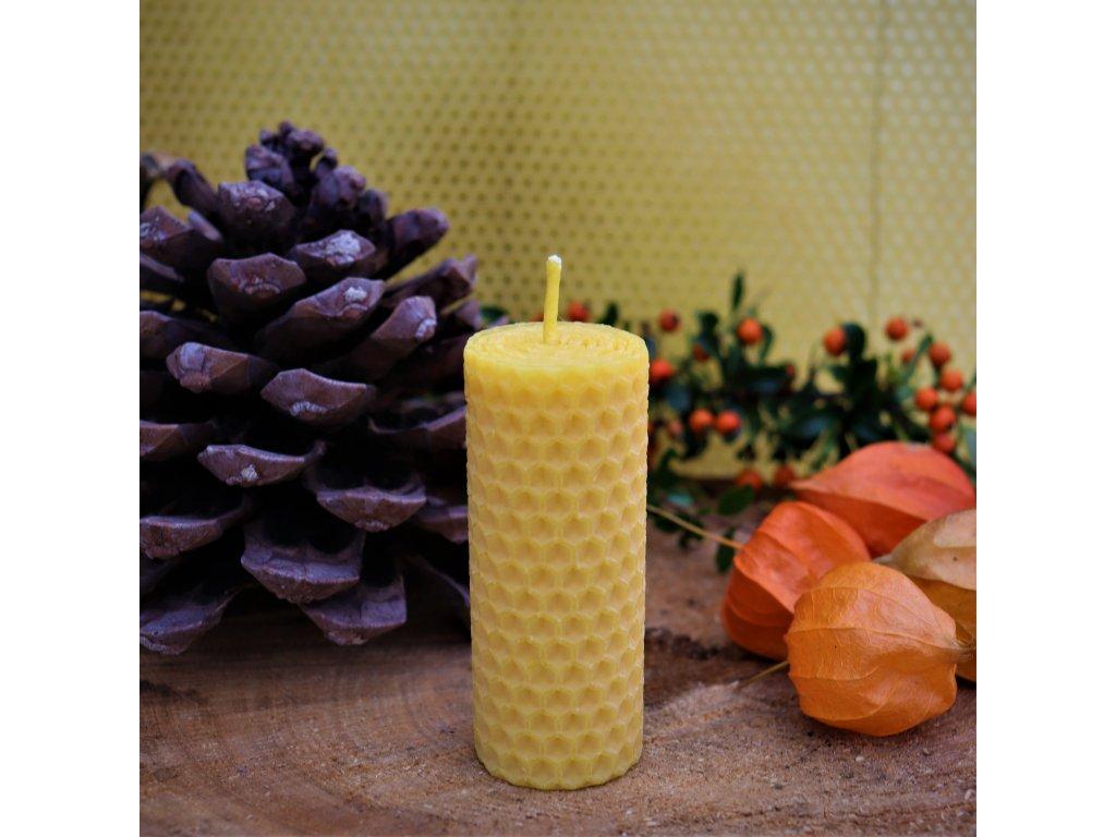 svíčka točená