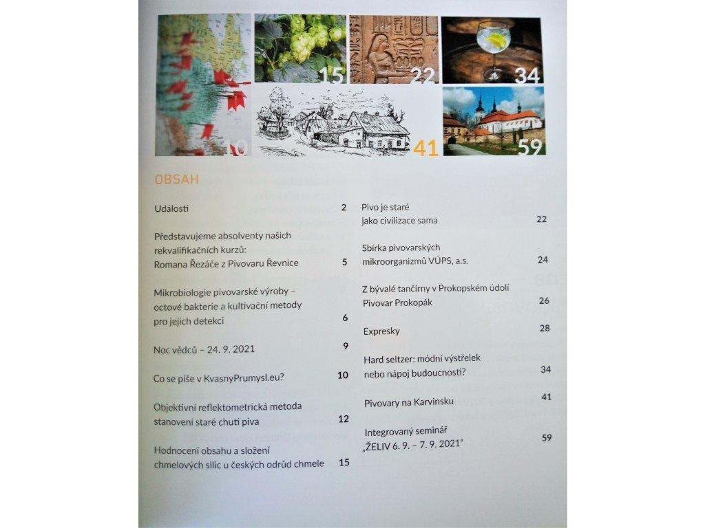 Časopis Kvasný 2021 - předplatné