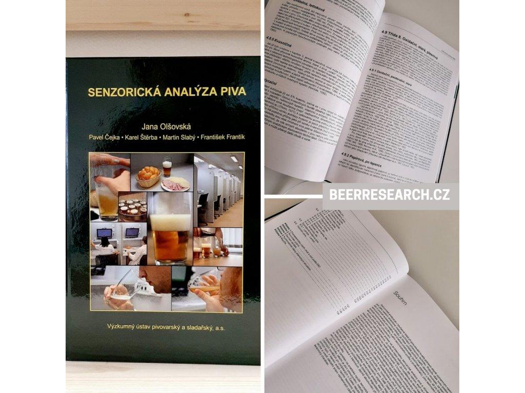 Kniha Senzorická analýza piva
