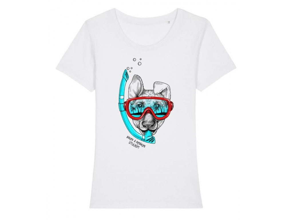 Dámské tričko potápěč