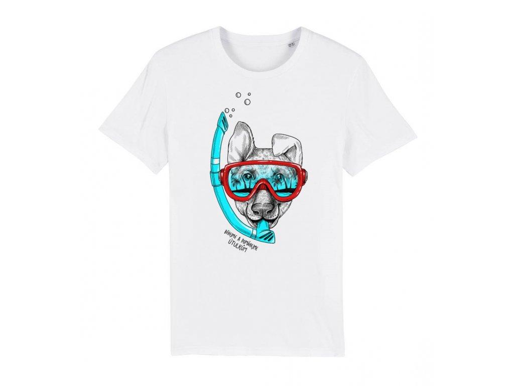 Dětské tričko POTÁPĚČ 6-8 let