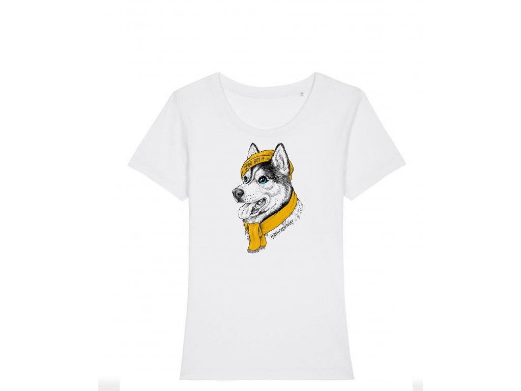 Dámské tričko husky