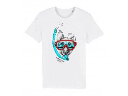Dětské tričko potápěč