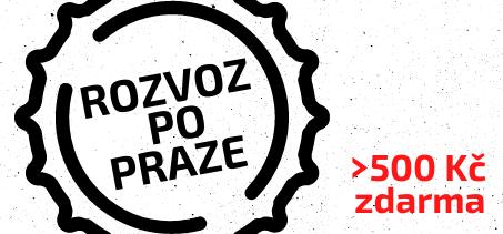 Rozvoz po Praze