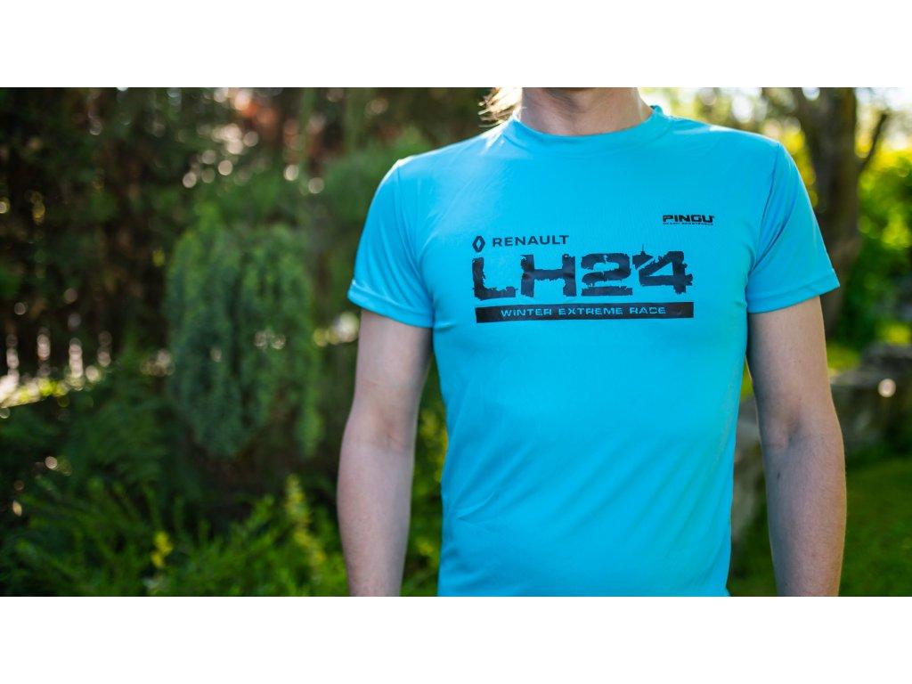 Triko LH24 pánské modrá