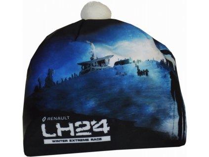 Čepice PINGU LH24 Černo Bílá