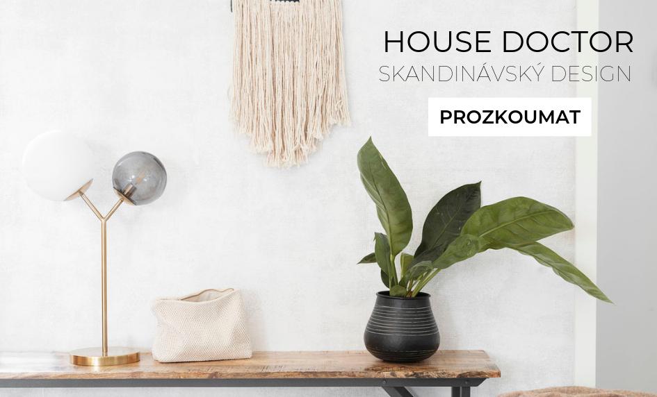 House doctor - skandinávský design