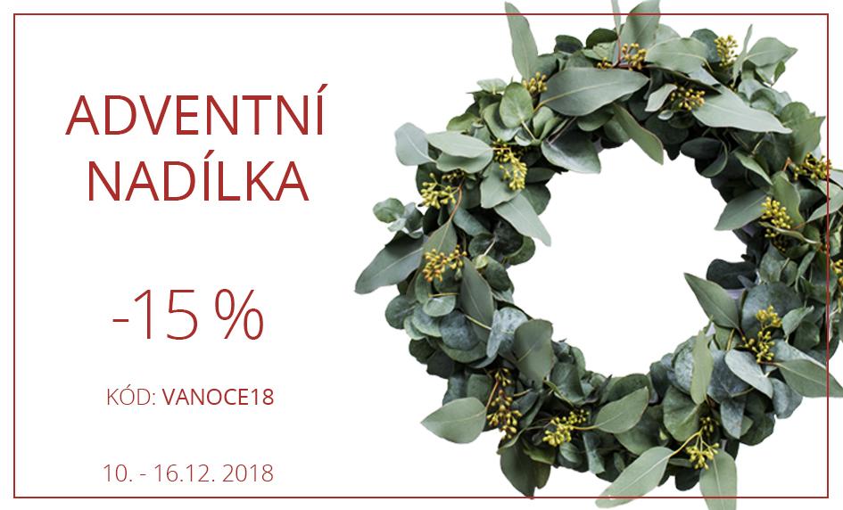 vánoční slevy -15%
